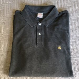 Brooks Brothers gray polo shirt, size XL